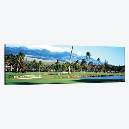 Kanapali Golf Course Maui HI Canvas Print #PIM12240} by Panoramic Images Canvas Print