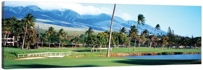 Kanapali Golf Course Maui HI Canvas Art Print