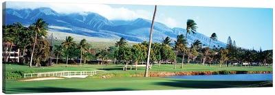 Kanapali Golf Course Maui HI Canvas Art Print