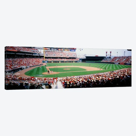 Great American Ballpark, Cincinnati, Ohio, USA Canvas Print #PIM12249} by Panoramic Images Canvas Art Print