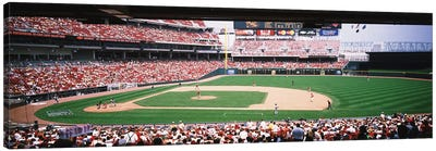Great American Ballpark First Base Line Cincinnati OH Canvas Art Print