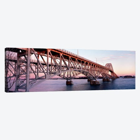 Bridge across a river, South Grand Island Bridge, Niagara River, Grand Island, Erie County, New York State, USA Canvas Print #PIM1225} by Panoramic Images Canvas Art
