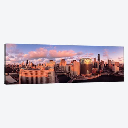 Chicago IL Canvas Print #PIM1227} by Panoramic Images Canvas Artwork