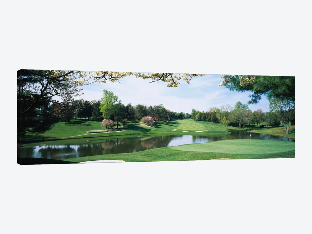 Lakeside Greens, Congressional Country Club, Bethesda, Maryland, USA by Panoramic Images 1-piece Canvas Art