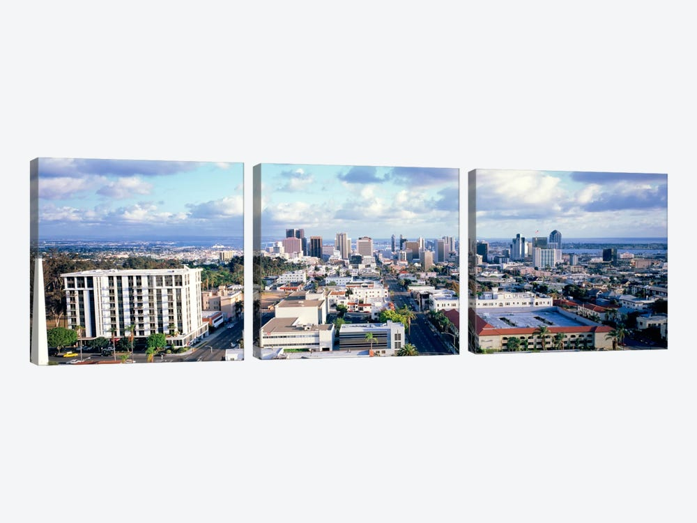 San Diego CA USA by Panoramic Images 3-piece Canvas Artwork