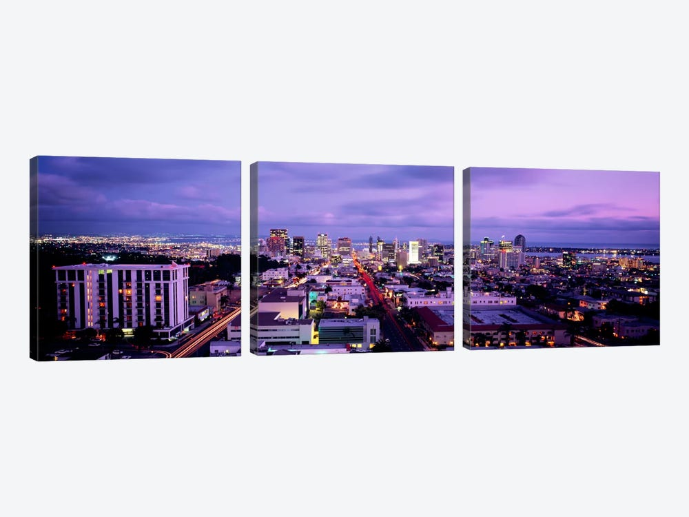 San Diego CA USA #2 by Panoramic Images 3-piece Canvas Print
