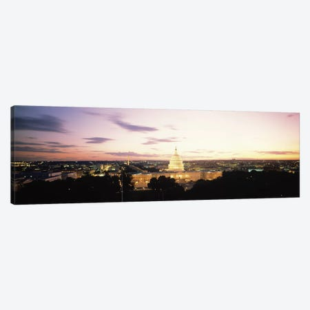 US Capitol Washington DC USA Canvas Print #PIM1234} by Panoramic Images Art Print