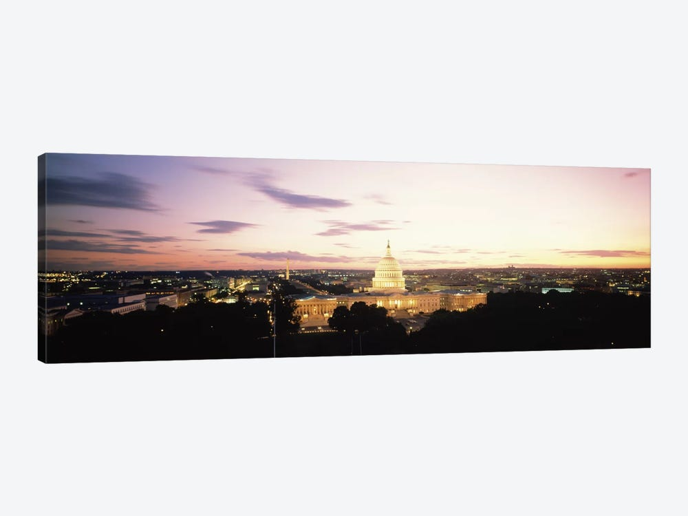 US Capitol Washington DC USA by Panoramic Images 1-piece Canvas Wall Art