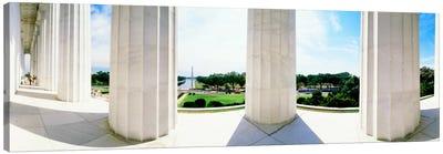 Lincoln Memorial Washington DC USA Canvas Print #PIM1237