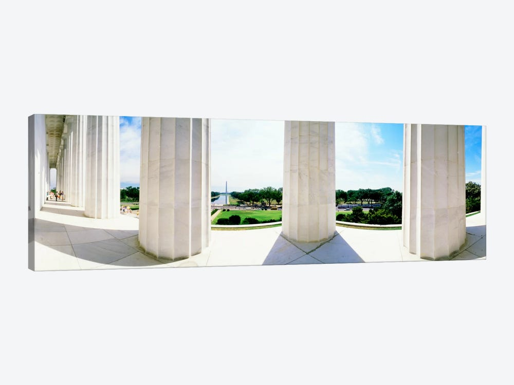 Lincoln Memorial Washington DC USA by Panoramic Images 1-piece Canvas Print