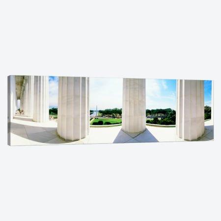 Lincoln Memorial Washington DC USA Canvas Print #PIM1237} by Panoramic Images Canvas Art Print
