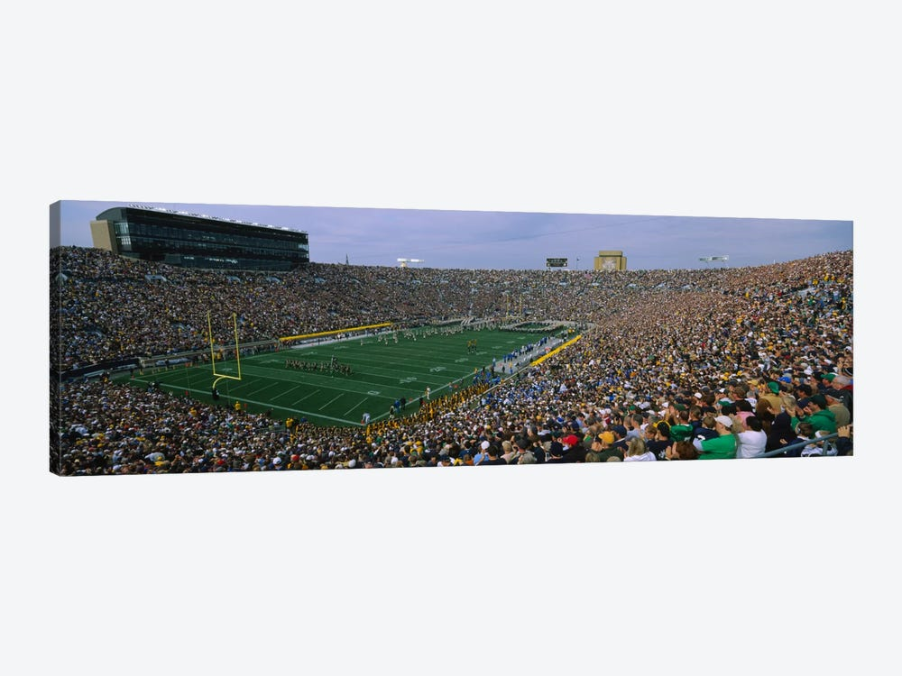 Team Entrance, Notre Dame Stadium, St. Joseph County, Indiana, USA by Panoramic Images 1-piece Canvas Art