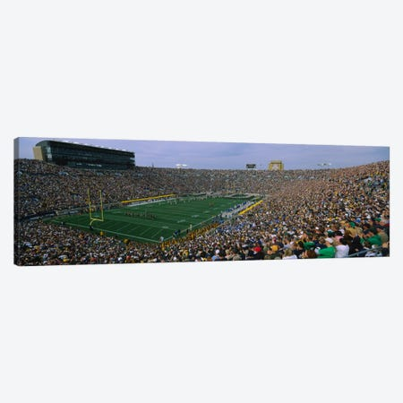Team Entrance, Notre Dame Stadium, St. Joseph County, Indiana, USA 3-Piece Canvas #PIM12380} by Panoramic Images Canvas Artwork