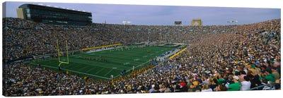 Team Entrance, Notre Dame Stadium, St. Joseph County, Indiana, USA Canvas Art Print
