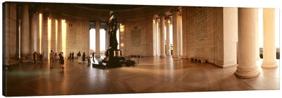 Jefferson Memorial Washington DC USA Canvas Art Print