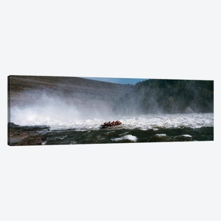Group of people rafting in a river, Gauley River, West Virginia, USA Canvas Print #PIM12462} by Panoramic Images Art Print