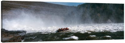 Group of people rafting in a river, Gauley River, West Virginia, USA Canvas Art Print