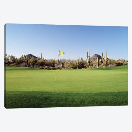 Golf flag in a golf course, Troon North Golf Club, Scottsdale, Maricopa County, Arizona, USA Canvas Print #PIM12475} by Panoramic Images Canvas Art Print