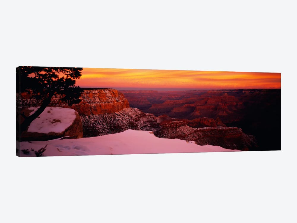 Rock formations on a landscape, Grand Canyon National Park, Arizona, USA 1-piece Canvas Wall Art