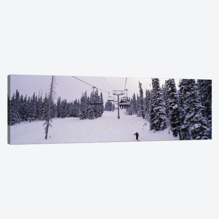 Ski Lift, Keystone Resort, Summit County, Colorado, USA Canvas Print #PIM12522} by Panoramic Images Canvas Artwork