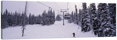Ski Lift, Keystone Resort, Summit County, Colorado, USA Canvas Print #PIM12522