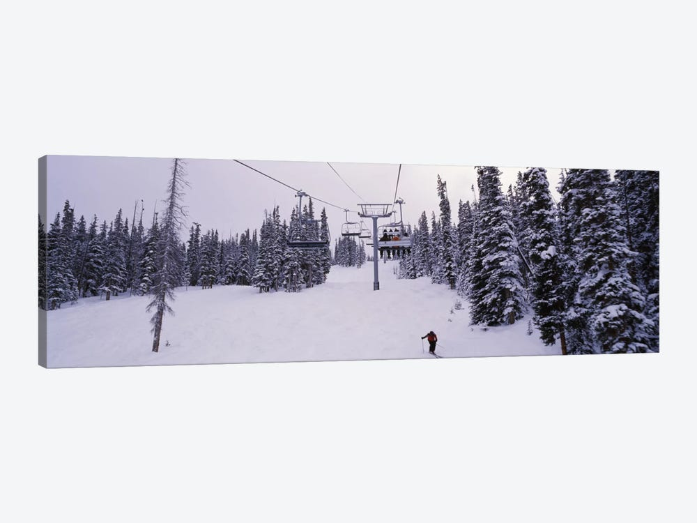 Ski Lift, Keystone Resort, Summit County, Colorado, USA by Panoramic Images 1-piece Canvas Wall Art