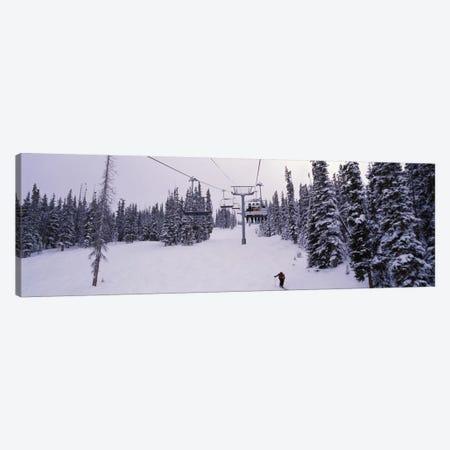 Ski Lift, Keystone Resort, Summit County, Colorado, USA Canvas Print #PIM12522} by Panoramic Images Canvas Artwork