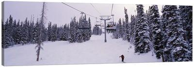 Ski Lift, Keystone Resort, Summit County, Colorado, USA Canvas Art Print