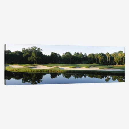 Lakeside Sand Trap, Kiawah Island Golf Resort, Charleston County, South Carolina, USA Canvas Print #PIM12533} by Panoramic Images Canvas Print