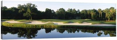 Lakeside Sand Trap, Kiawah Island Golf Resort, Charleston County, South Carolina, USA Canvas Print #PIM12533