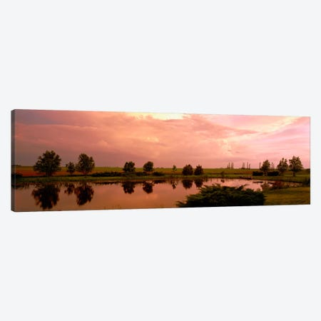 Country pond IL USA Canvas Print #PIM1259} by Panoramic Images Canvas Art