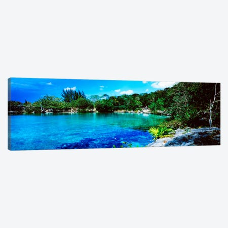 Tranquil Lagoon, Cozumel, Mexico Canvas Print #PIM1263} by Panoramic Images Art Print