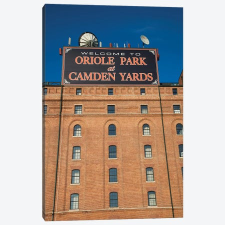 Low angle view of a baseball park 2, Oriole Park at Camden Yards, Baltimore, Maryland, USA Canvas Print #PIM12673} by Panoramic Images Canvas Art
