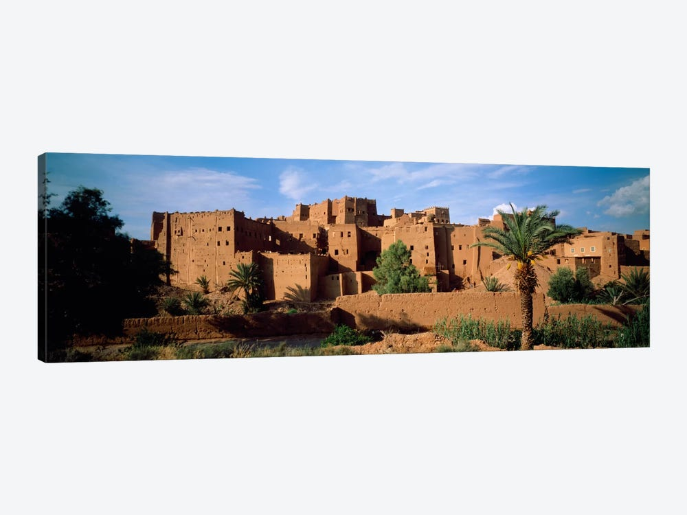 Buildings in a villageAit Benhaddou, Ouarzazate, Marrakesh, Morocco by Panoramic Images 1-piece Art Print
