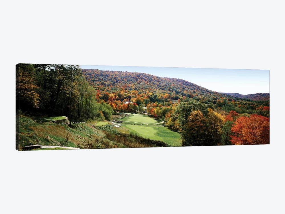 Golf course on a hill, Hawthorne Valley Golf Course, Hawthorne Valley, Salon, Ohio, USA by Panoramic Images 1-piece Canvas Art