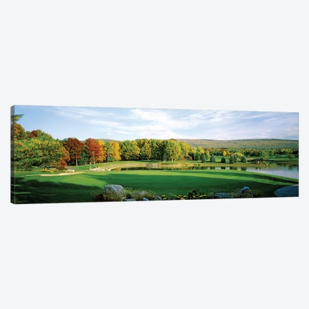 Golf course, Penn National Golf Club, Fayetteville, Franklin County, Pennsylvania, USA Canvas Print #PIM12755} by Panoramic Images Canvas Artwork