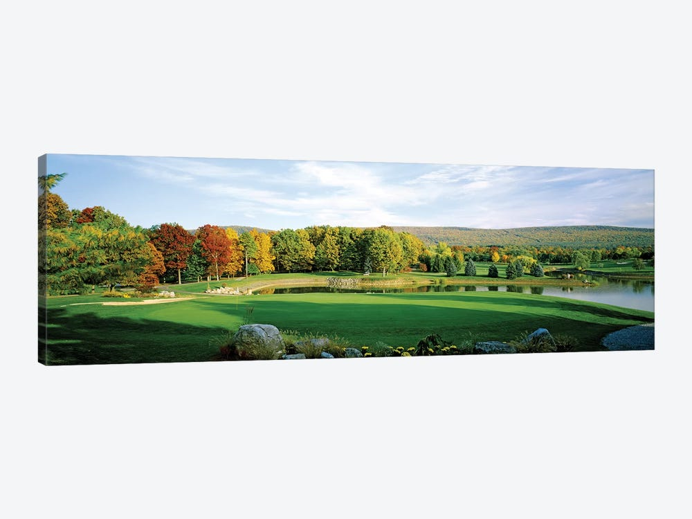 Golf course, Penn National Golf Club, Fayetteville, Franklin County, Pennsylvania, USA by Panoramic Images 1-piece Art Print