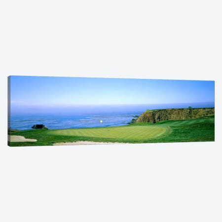 8th Hole, Pebble Beach Golf Links, Monterey County, California, USA Canvas Print #PIM12764} by Panoramic Images Canvas Art Print
