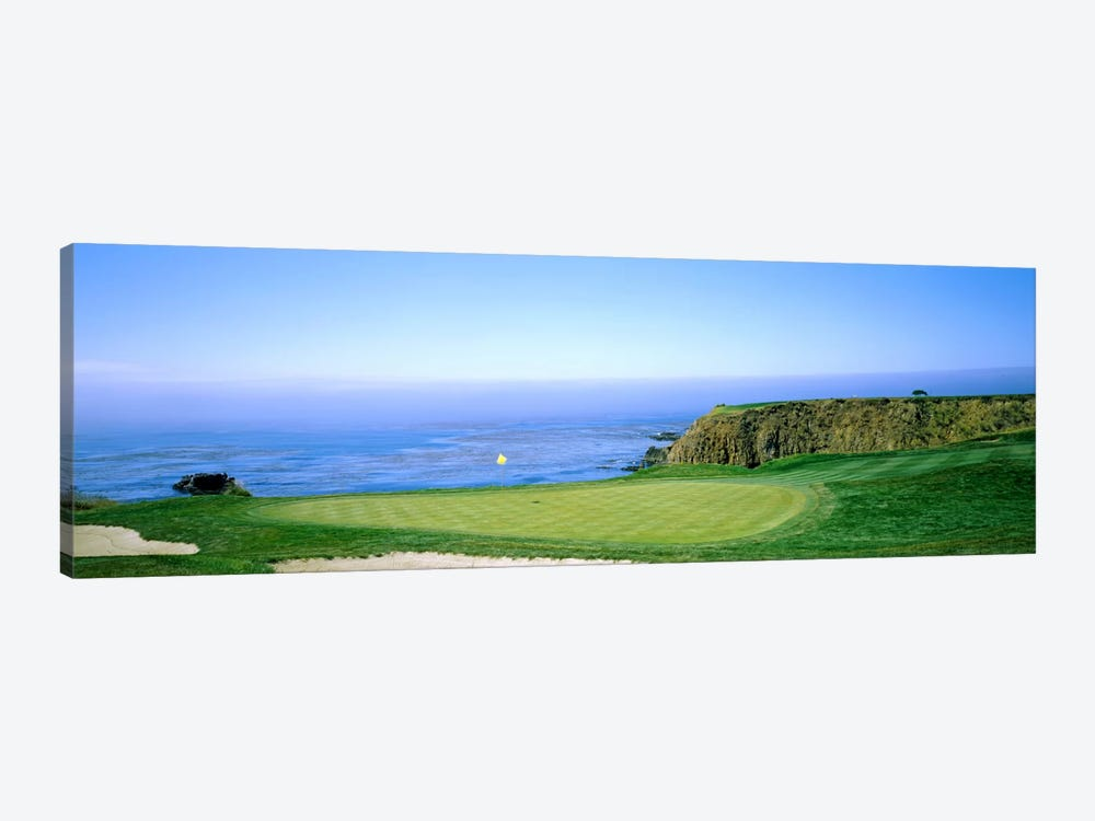 8th Hole, Pebble Beach Golf Links, Monterey County, California, USA by Panoramic Images 1-piece Art Print