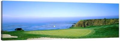 8th Hole, Pebble Beach Golf Links, Monterey County, California, USA Canvas Art Print