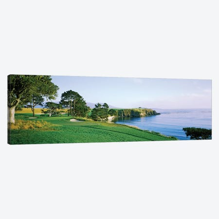 Pebble Beach Golf Course 3, Pebble Beach, Monterey County, California, USA Canvas Print #PIM12766} by Panoramic Images Canvas Art Print