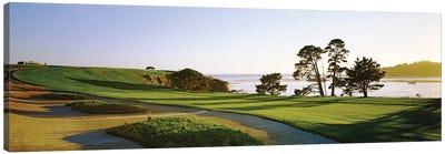 Pebble Beach Golf Course 4, Pebble Beach, Monterey County, California, USA Canvas Art Print
