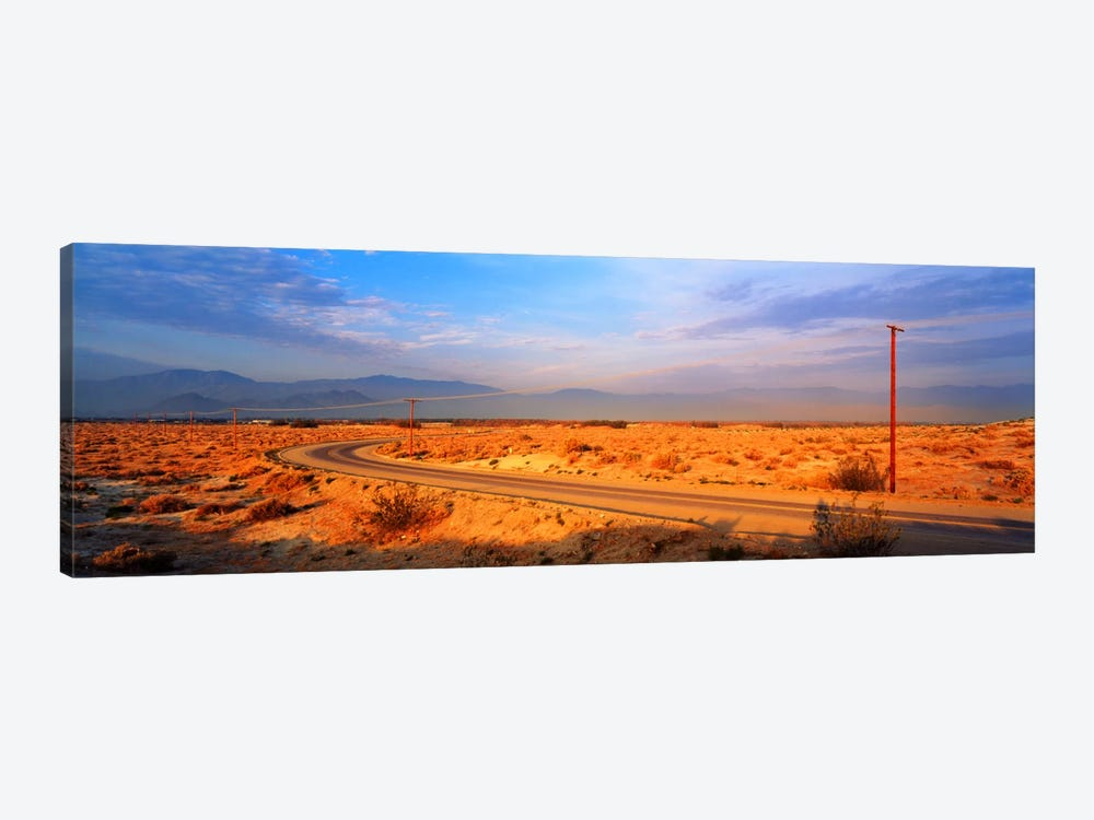 Road Desert Springs CA by Panoramic Images 1-piece Canvas Artwork