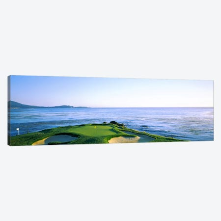 7th Hole, Pebble Beach Golf Links, Monterey County, California, USA Canvas Print #PIM12779} by Panoramic Images Canvas Print