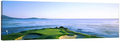 7th Hole, Pebble Beach Golf Links, Monterey County, California, USA Canvas Art Print