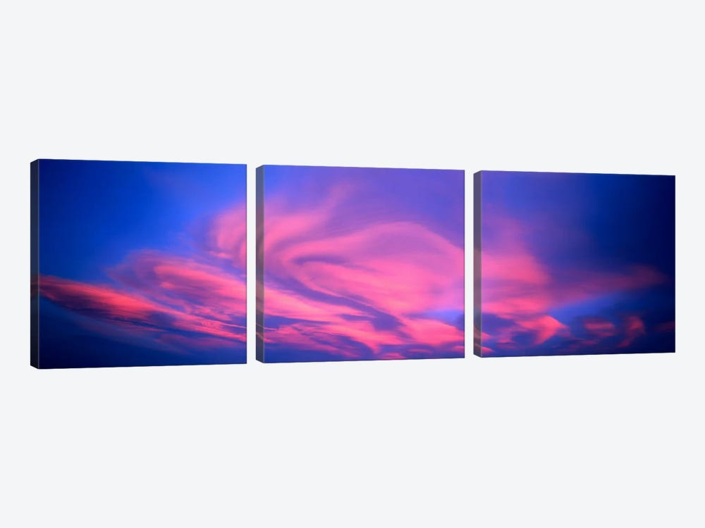 Cloudscape Canterbury New Zealand by Panoramic Images 3-piece Canvas Art
