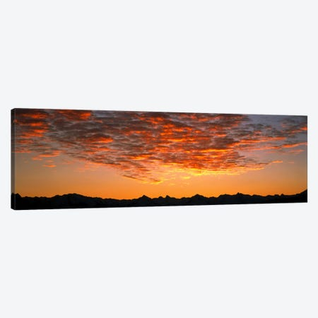 Ben Ohau Mtn Range S Canterbury New Zealand Canvas Print #PIM1284} by Panoramic Images Canvas Art