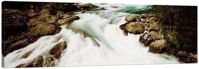 Namsen River Norway Canvas Print #PIM1285