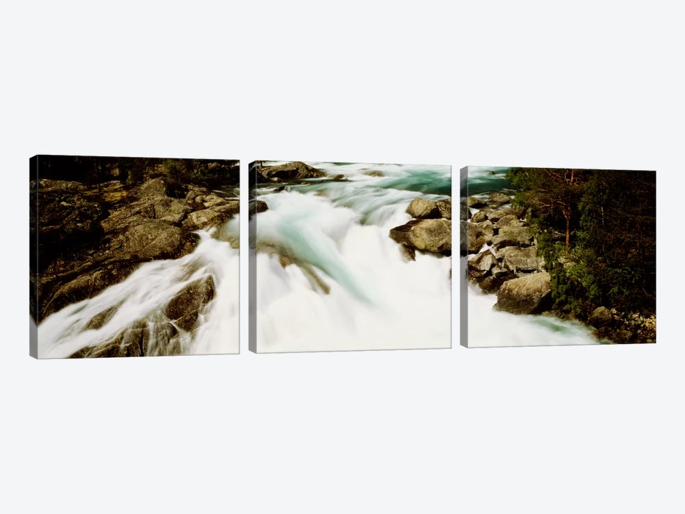 Namsen River Norway by Panoramic Images 3-piece Canvas Art