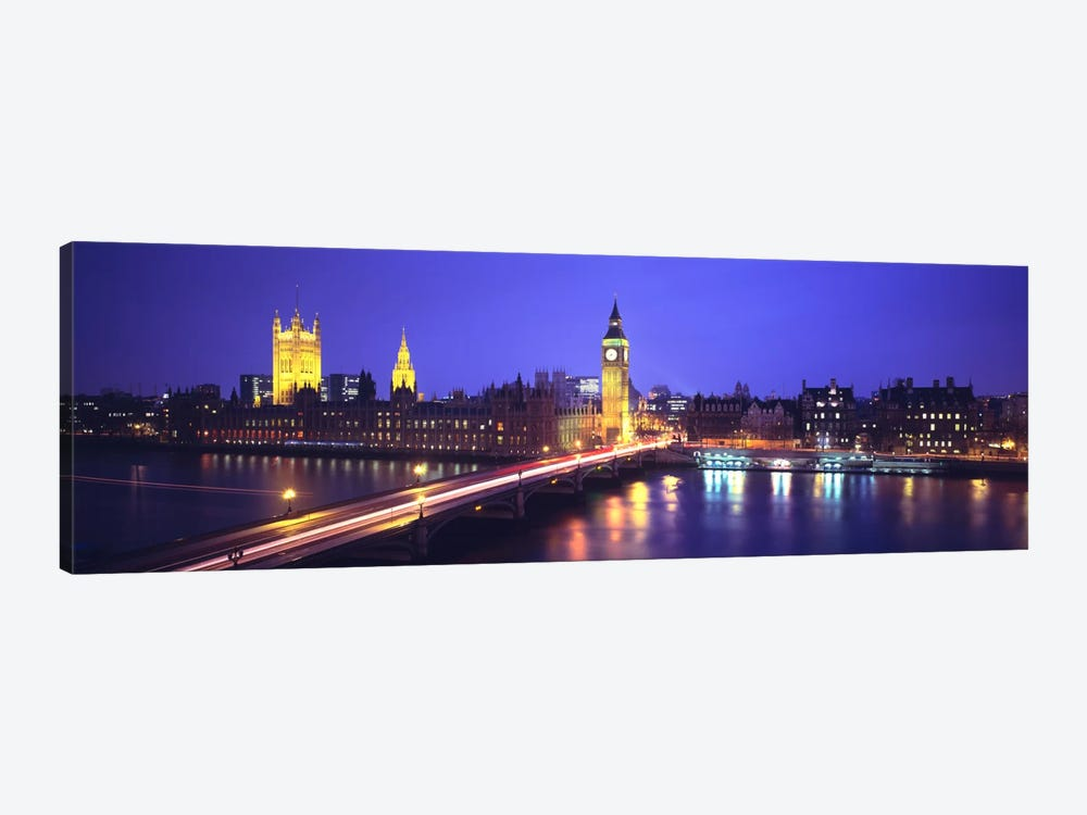 Palace of Westminster, City Of Westminster, London, England by Panoramic Images 1-piece Canvas Art Print